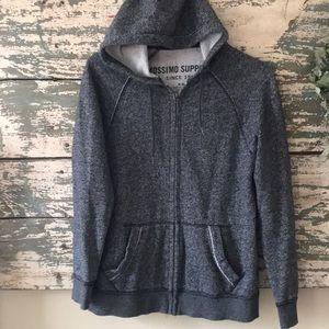 Men's zip-up hoodie sweatshirt